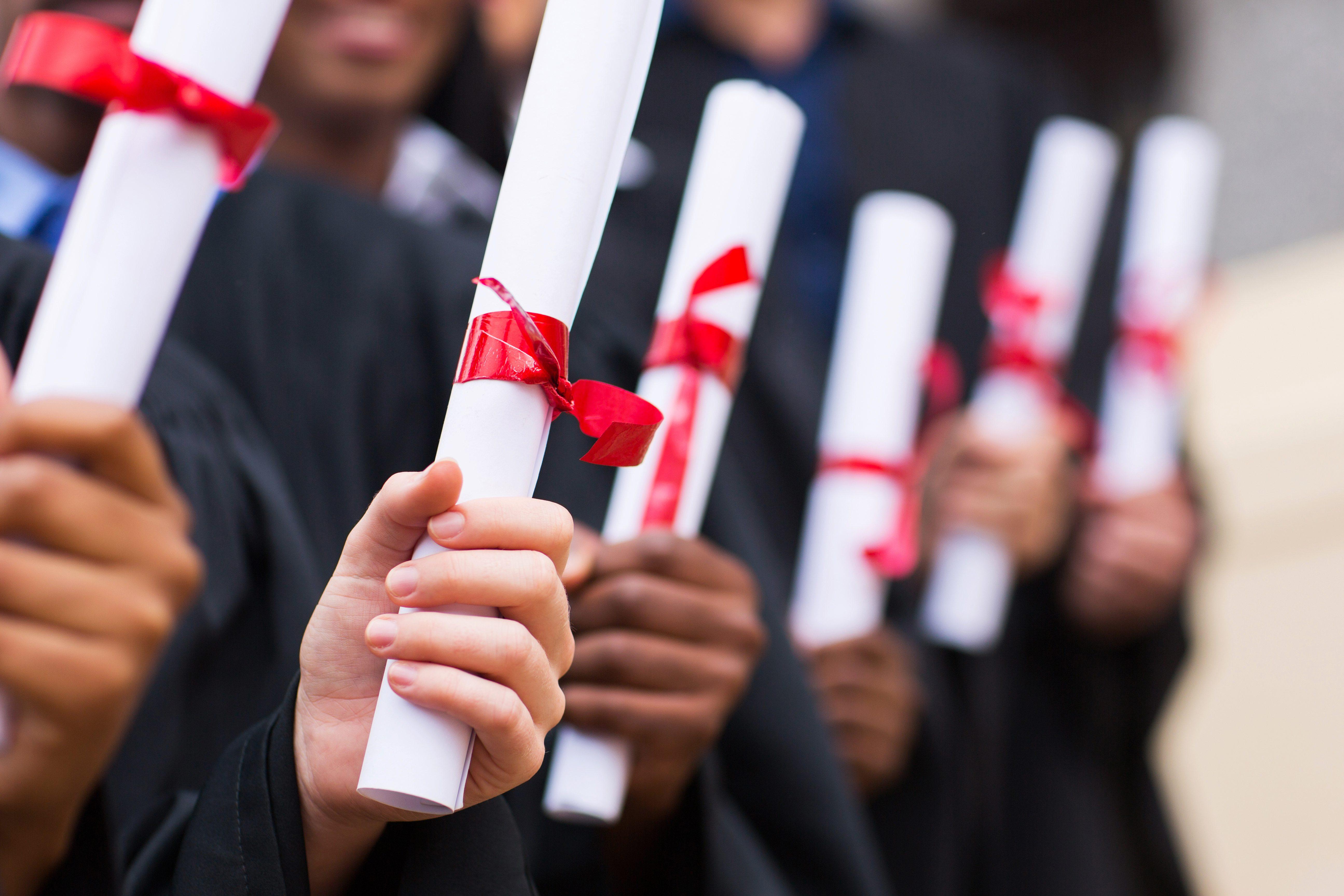 experience and diplomas