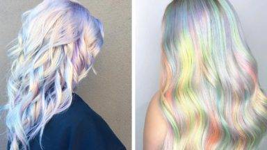 Holographic Hair: The Hair Colour Trend With Real Staying Power