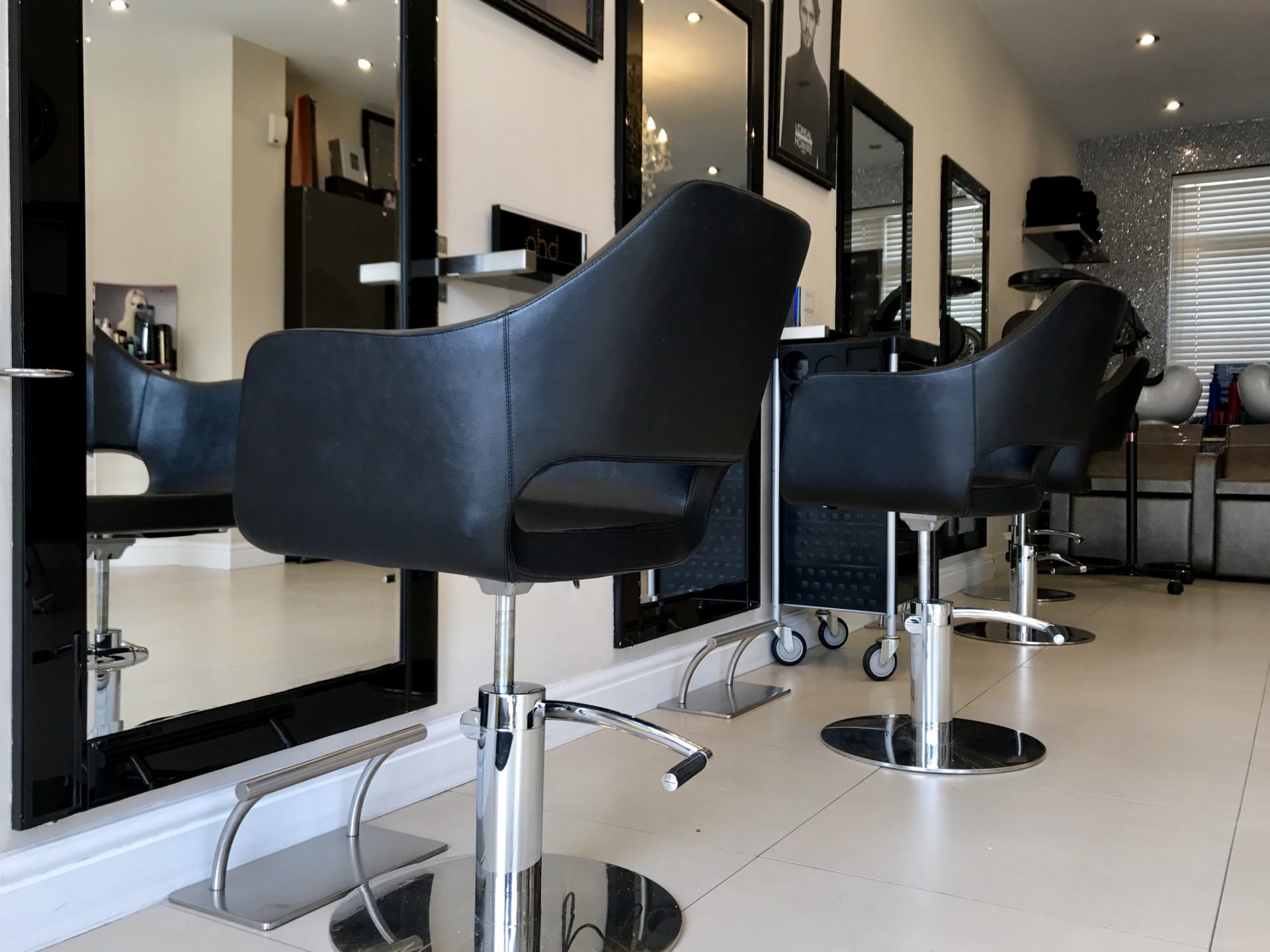 hair salon in shirley