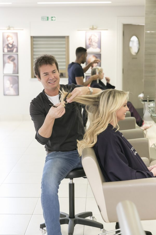 richard ward cutting hair