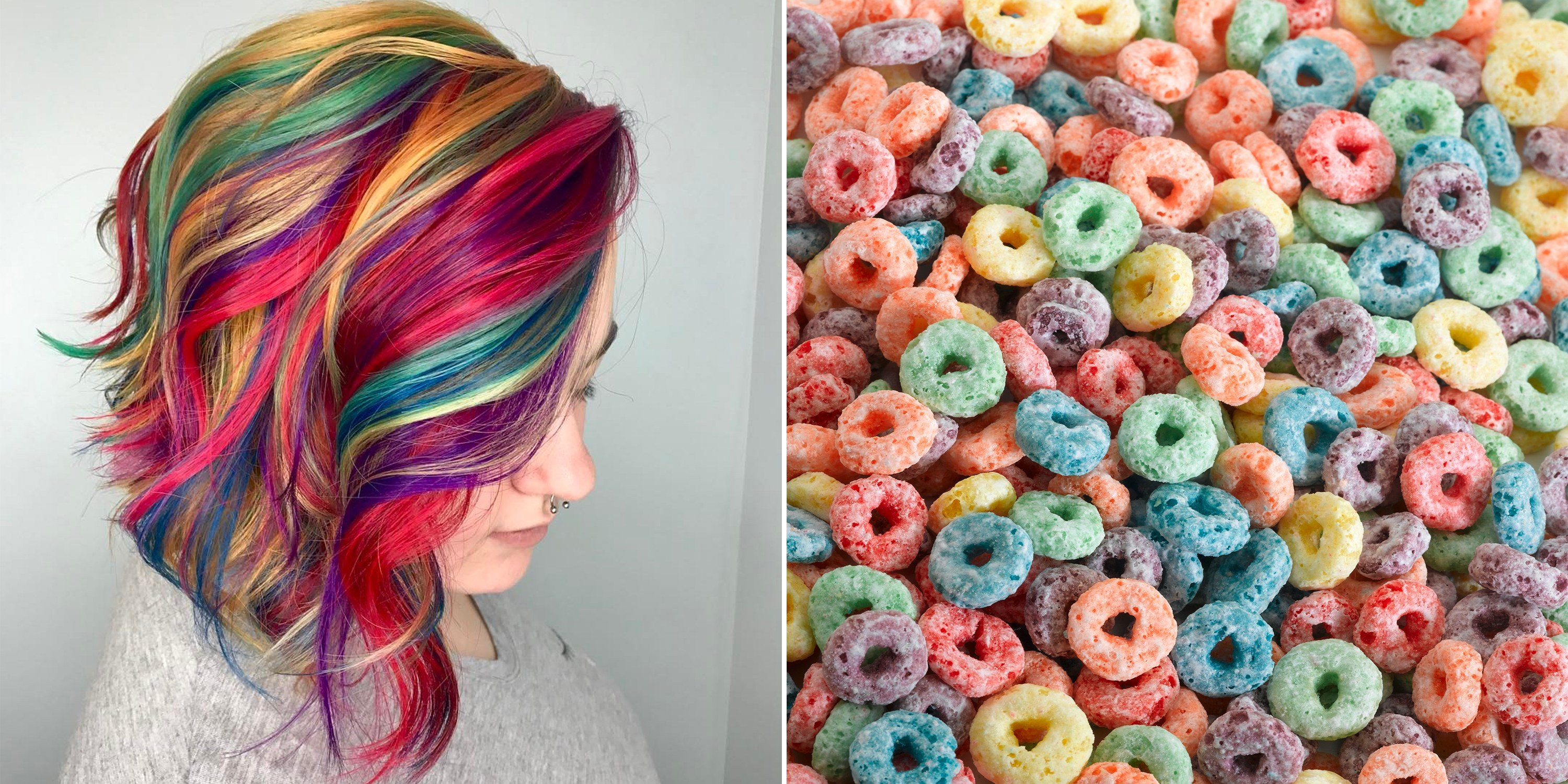 cereal hair trend
