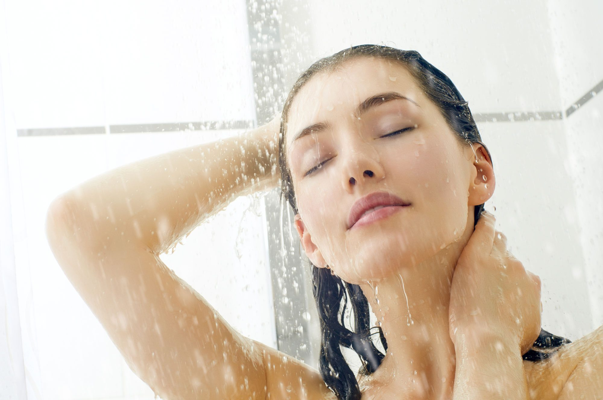 avoid hot showers & baths