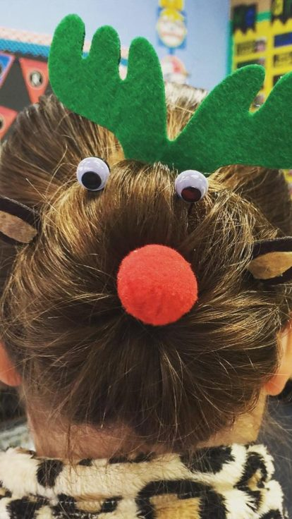 christmas hair ideas