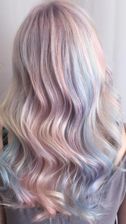 Pastel Hair Colour Inspiration To Have You Looking Fresh ...