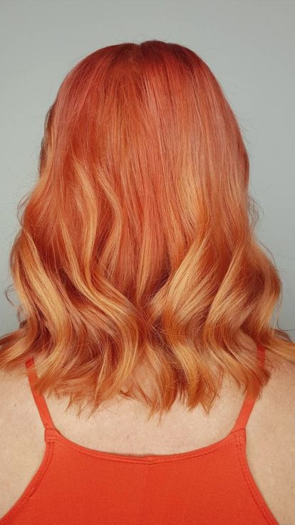 tequila sunrise hair trend