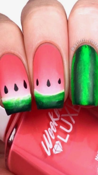 fruit nail trend