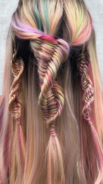 Dna Braids The Viral Hair Styling Technique That Has Us