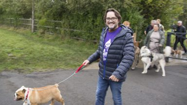 Hooker & Young hold first ever Hair & Hounds sponsored dog walk