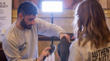 LFW A/W 20: AUTHENTIC BEAUTY CONCEPT HAIR LOOK FOR AADNEVIK