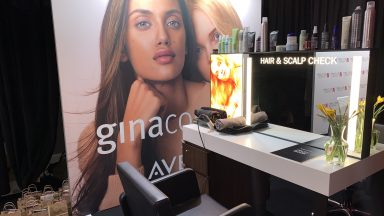 BACKSTAGE AT THE BRITS WITH GINA CONWAY AVEDA SALONS & SPAS, OFFICIAL HAIR PARTNER AT THE BACKSTAGE SPA