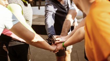 Doing It Together: Why Group training can encourage those who struggle