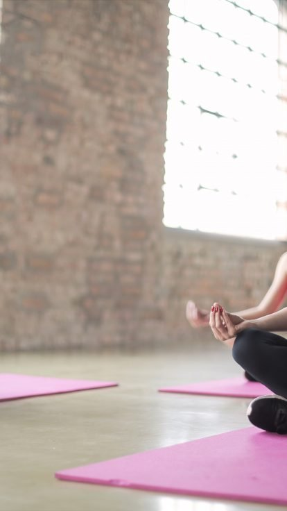 practicing yoga with insurance