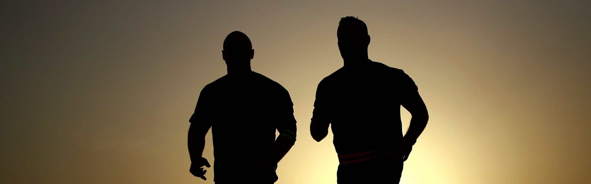 running people silhouette, fitness insurance