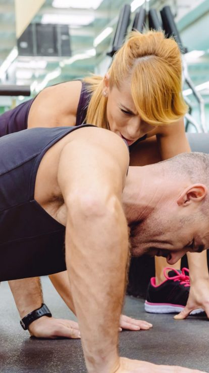 personal trainer with public liability insurance