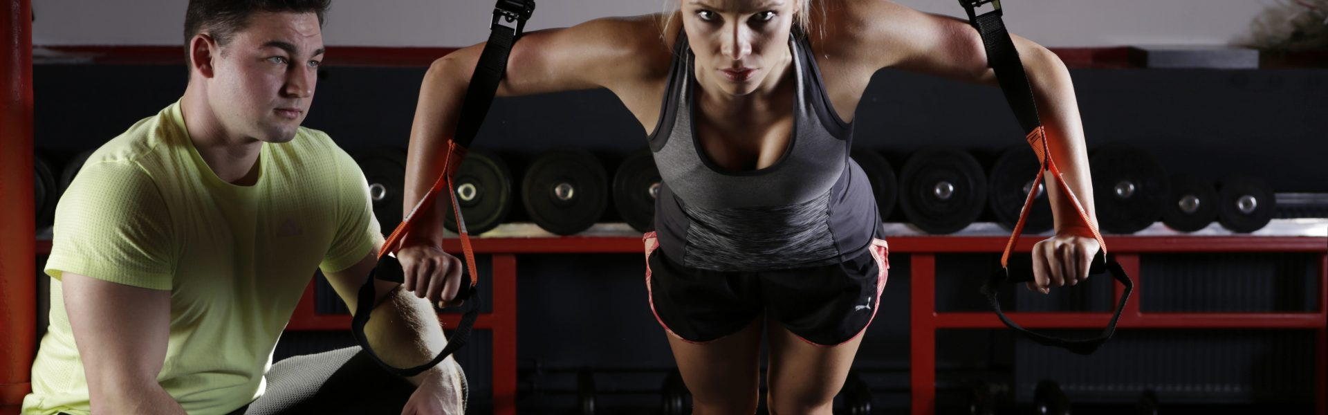 personal trainer with insurance