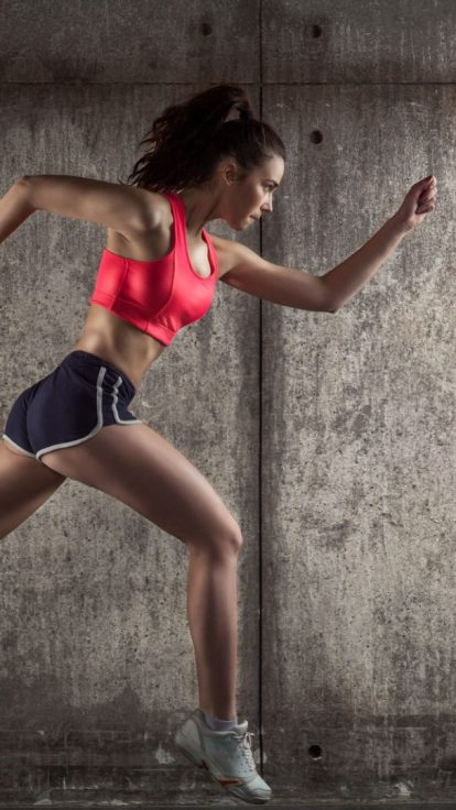 running female fitness insurance